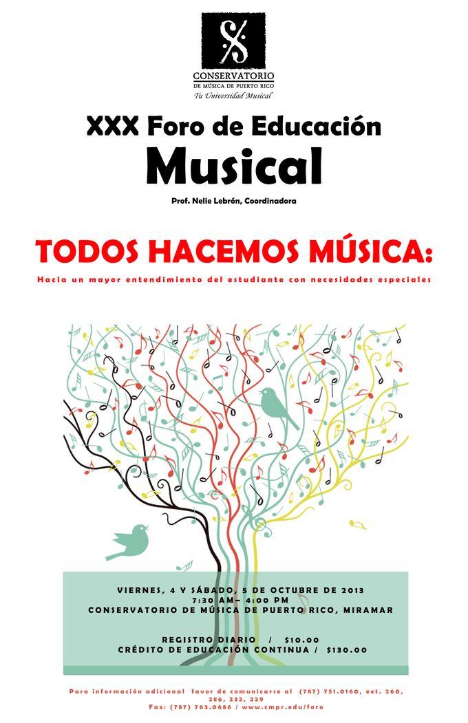Dónde: Conservatorio de Música de Puerto Rico, Miramar, San Juan.