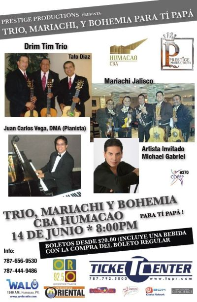 Trio, Mariachis Padres