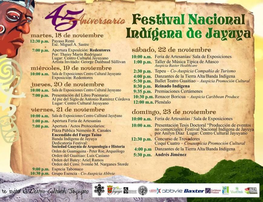 Festival Nacional Indígena de Jayuya 2014