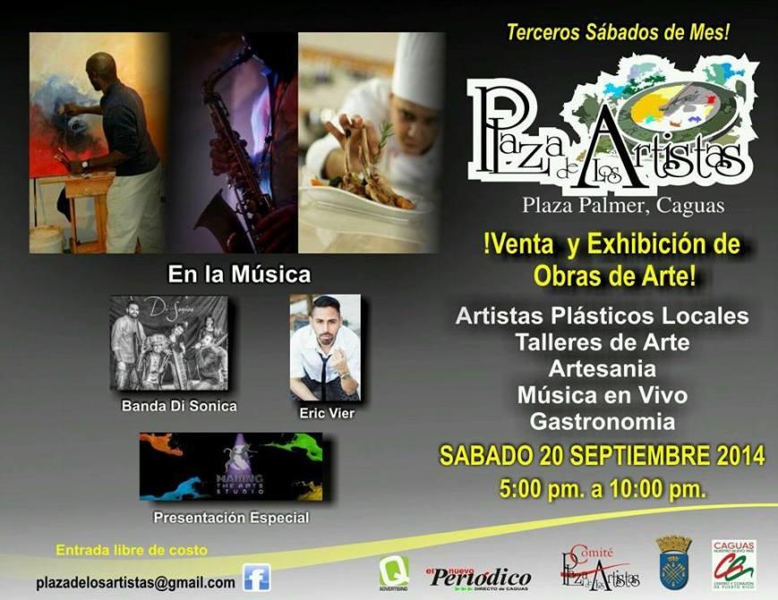 plaza artistas