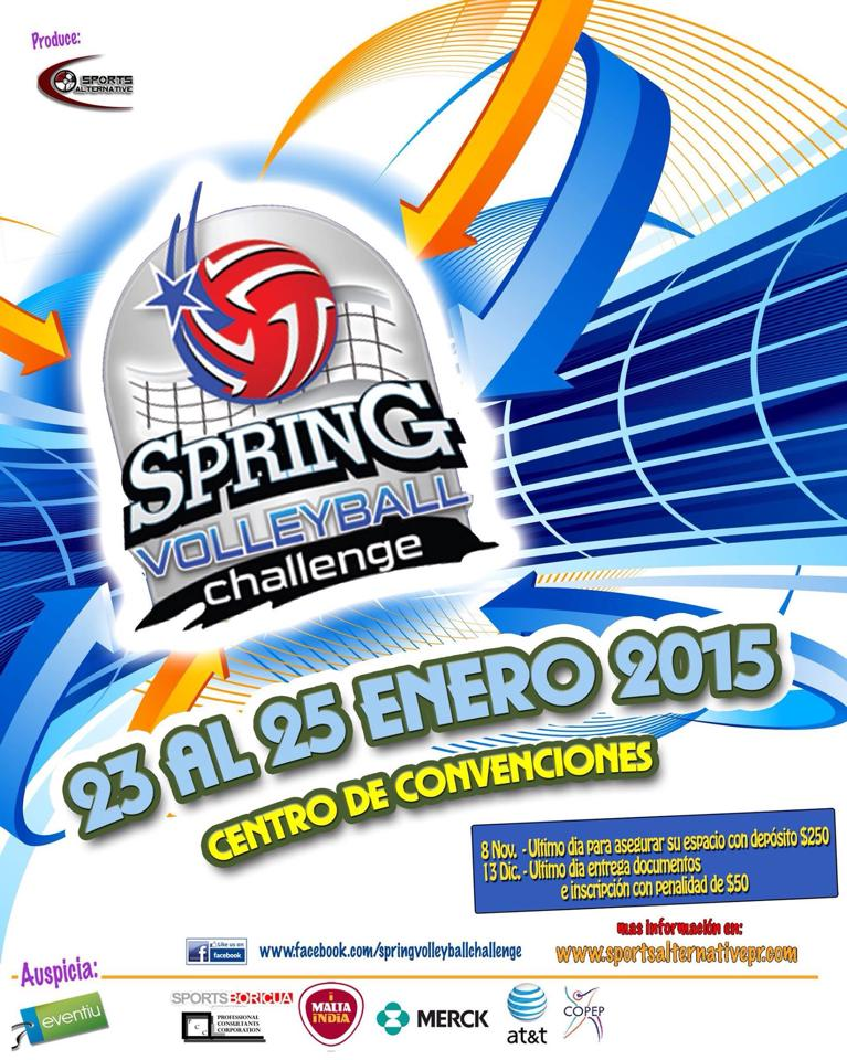 spring volley challenge