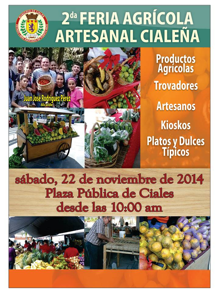 Feria Agrícola Artesanal Cialeña 2014
