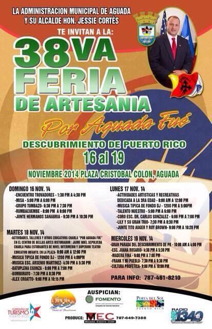 Feria de Artesanías Por Aguada Fué