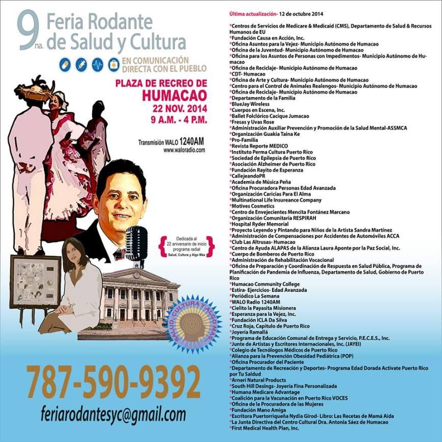 Feria Rodante de Salud y Cultura- En Comunicación Directa con el Pueblo