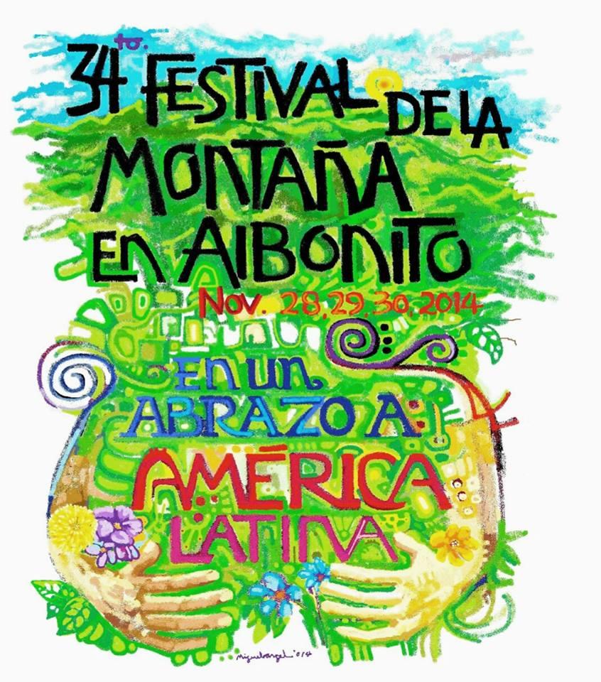 Festival de la Montaña en Aibonito 2014- En un Abrazo a Latinoamérica