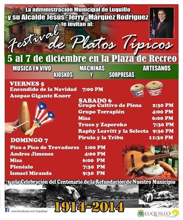 Festival de Platos Típicos 2014