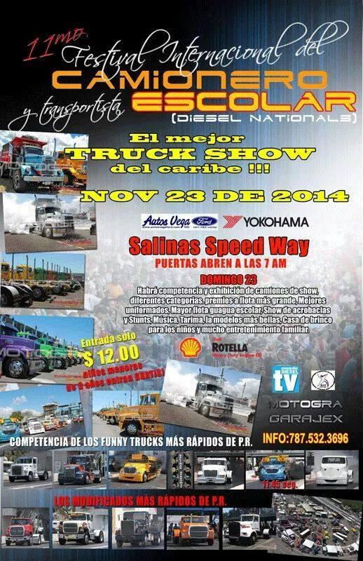Festival Internacional del Camionero y Transportista Escolar 2014