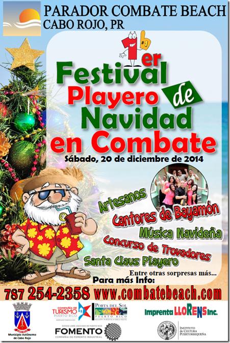 Festival Playero de Navidad en Combate 2014