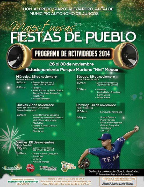 Fiestas Patronales de Juncos 2014