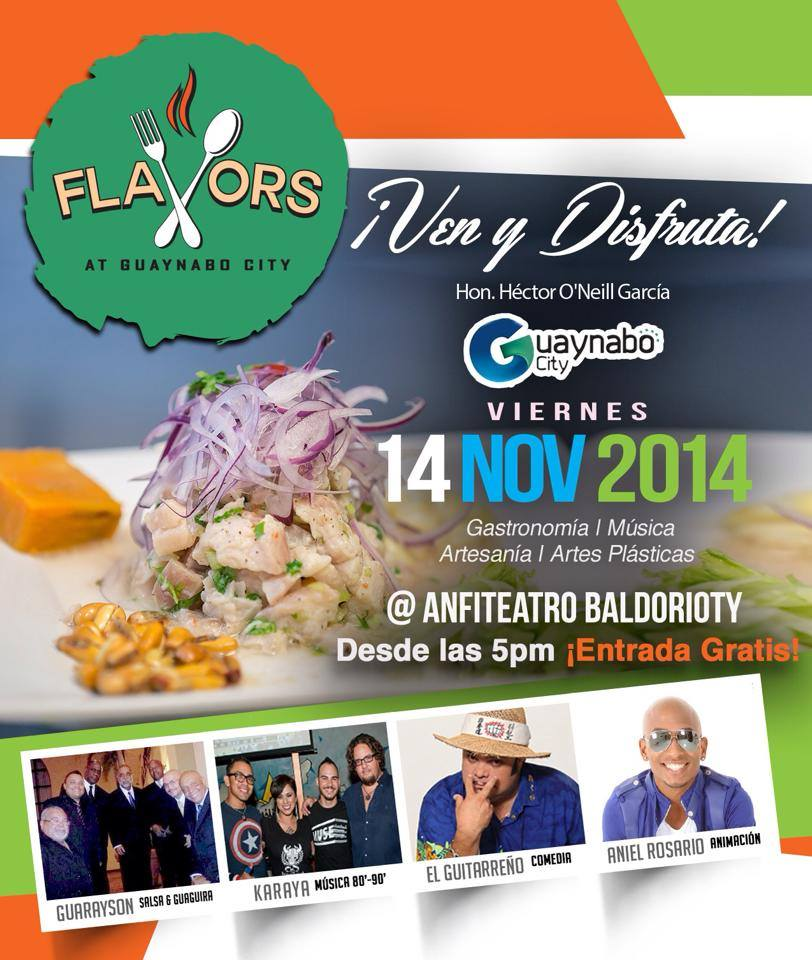 Flavors @ Guaynabo City- Noviembre 2014
