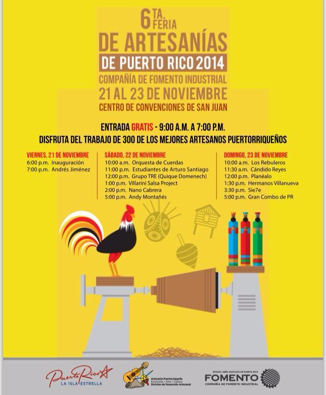Gran Feria de Artesanias de Puerto Rico 2014