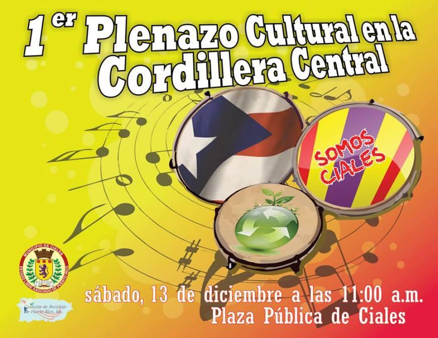 Plenazo Cultural en la Cordillera Central 2014