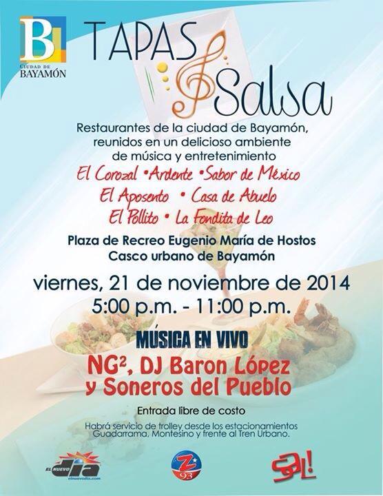 Tapas y Salsa- Noviembre 2014