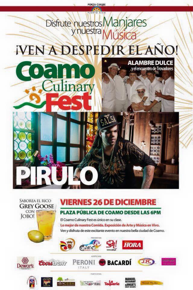 Coamo Culinary Fest- Diciembre 2014