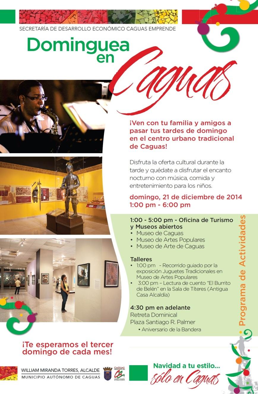Dominguea en Caguas- Diciembre 2014
