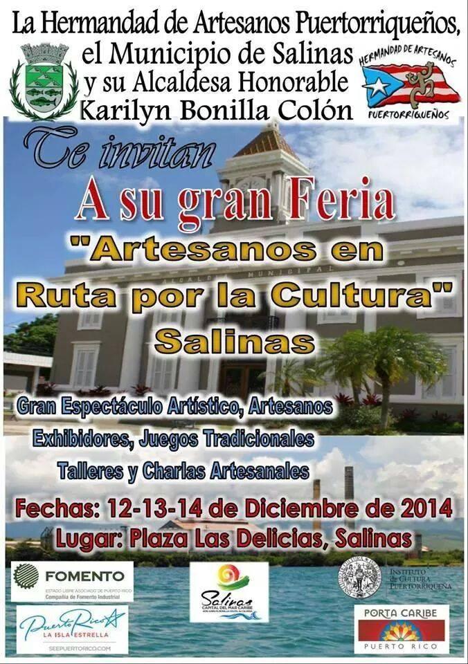 Feria Artesanos en Ruta por la Cultura 2014