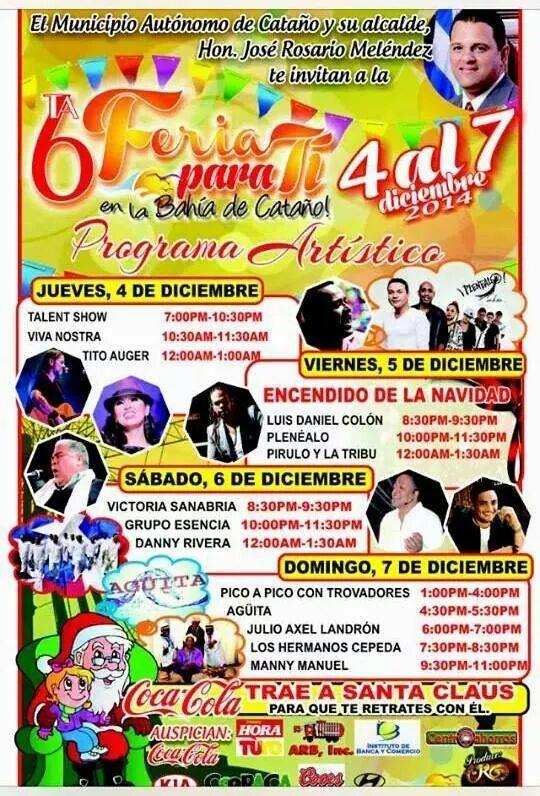 Feria para Tí en la Bahía de Cataño 2014