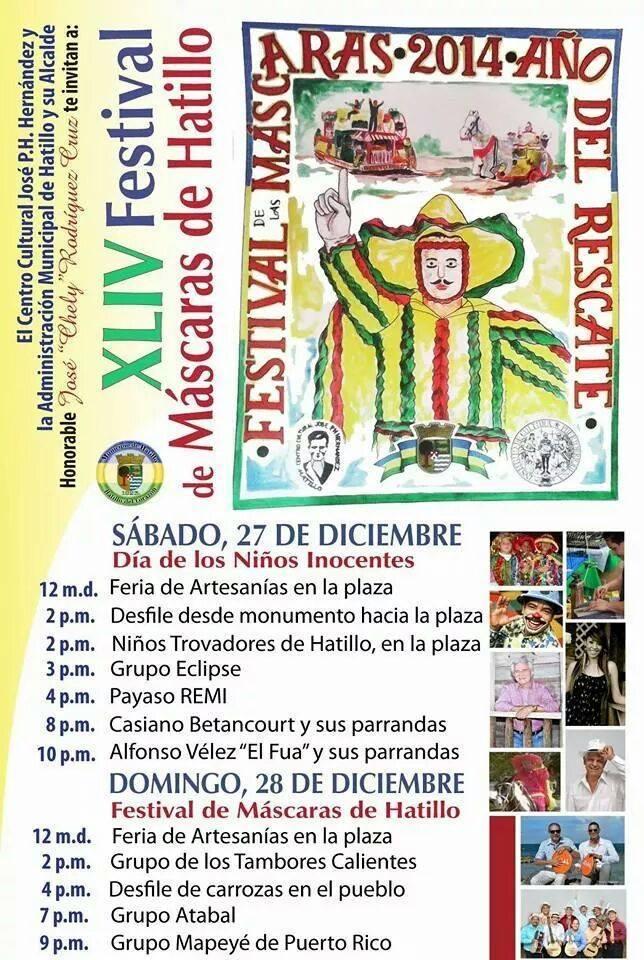 Festival de las Máscaras de Hatillo 2014