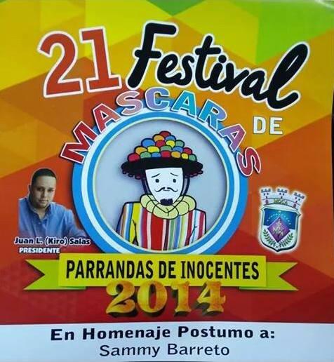 Festival de Máscaras de Moca- Parranda de los Inocentes 1