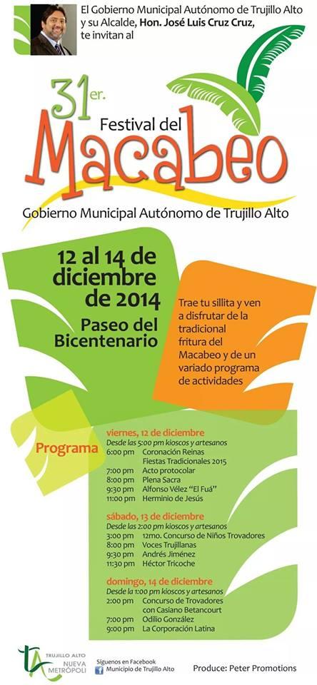 Festival del Macabeo 2014