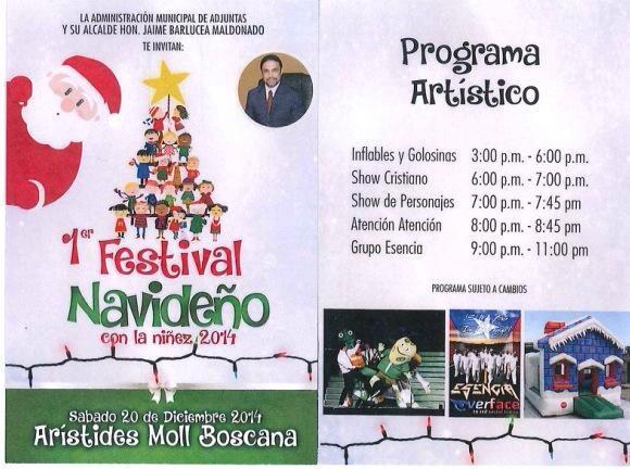 Festival Navideño con la Niñez 2014