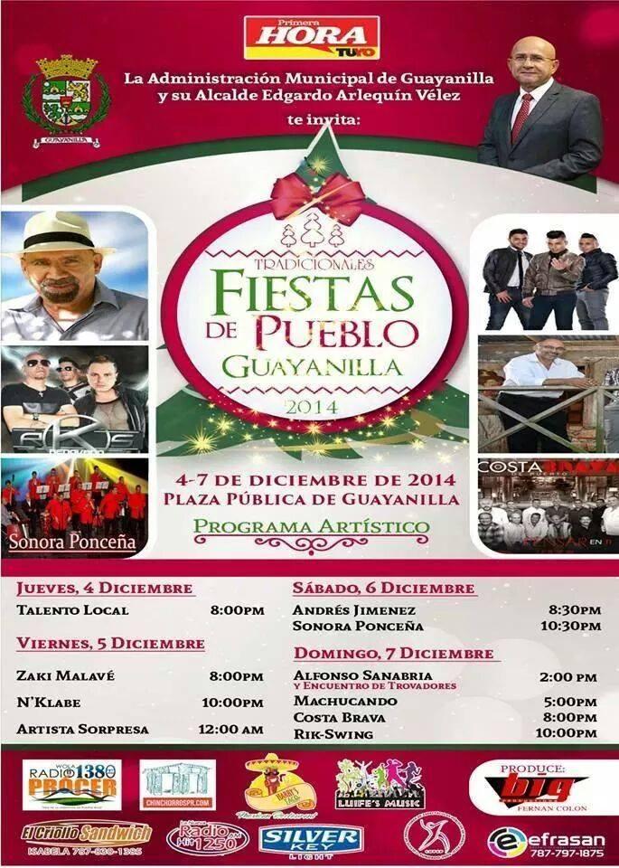 Fiestas Patronales de Guayanilla 2014