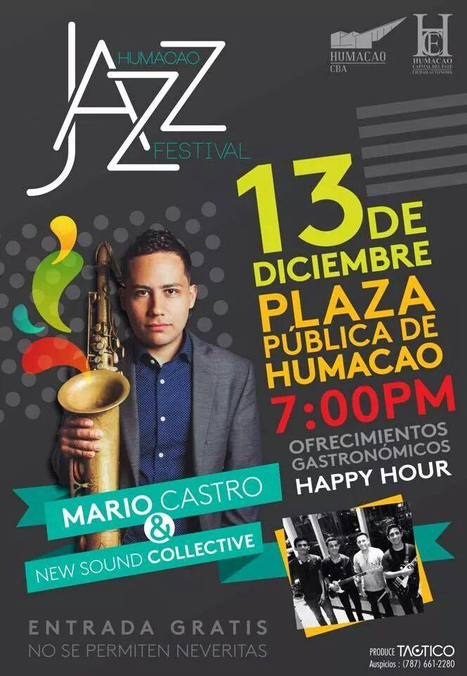 Humacao Jazz Festival- Diciembre 2014