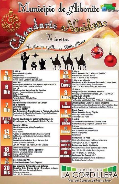 Itinerario Navideño en Aibonito