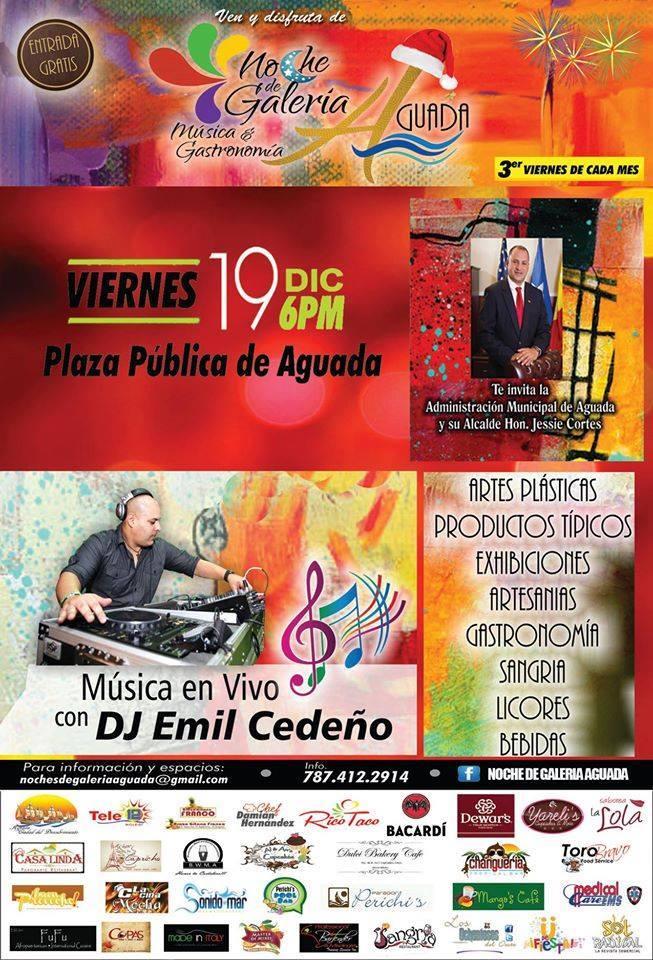 Noches de Galería Música & Gastronomía- Diciembre 2014
