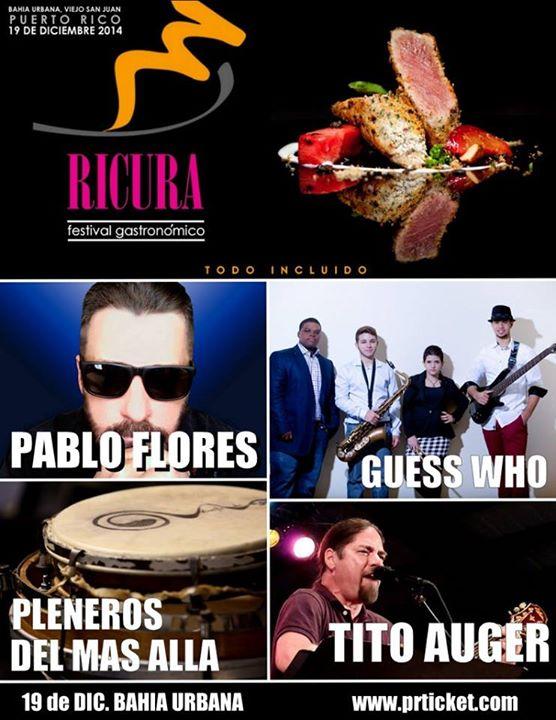 Ricura Festival Gastronómico 2014