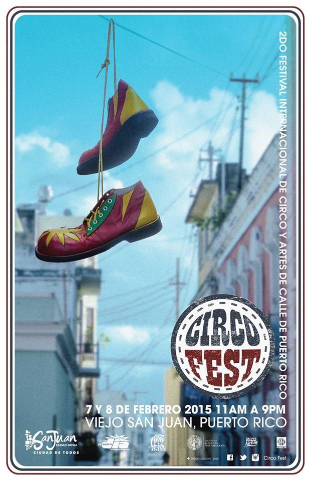 Festival Internacional de Circo y Artes de la Calle de Puerto Rico 2015