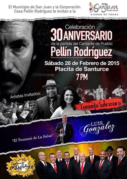 Homenaje a Pellín Rodríguez