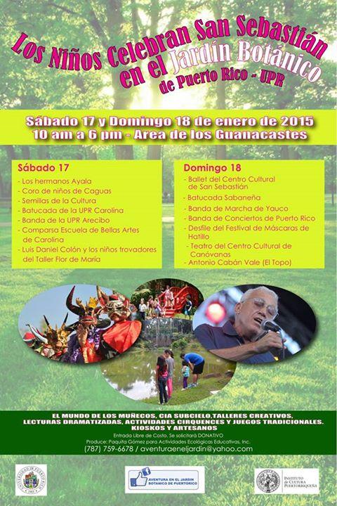 Ferias artesanales son de aqui pr page 50 for Actividades en el jardin botanico de caguas