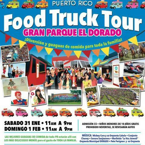 Puerto Rico Food Trucks Tour