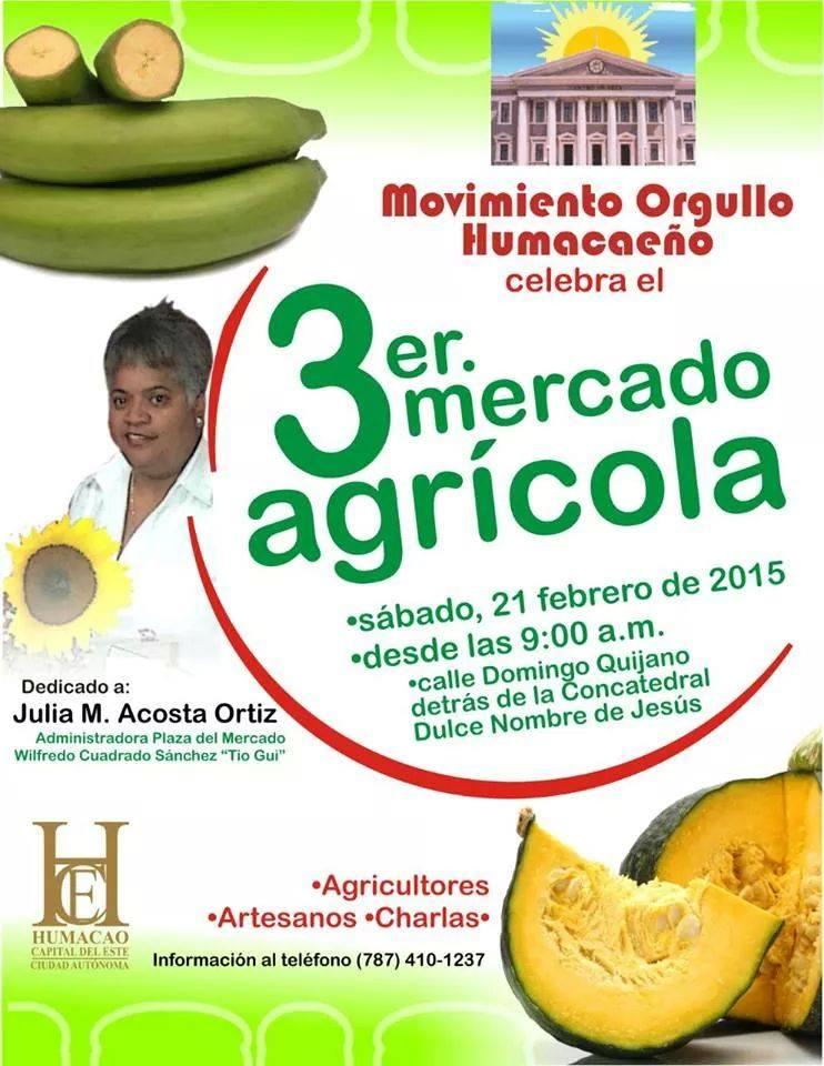 3er Mercado Agrícola @ Humacao