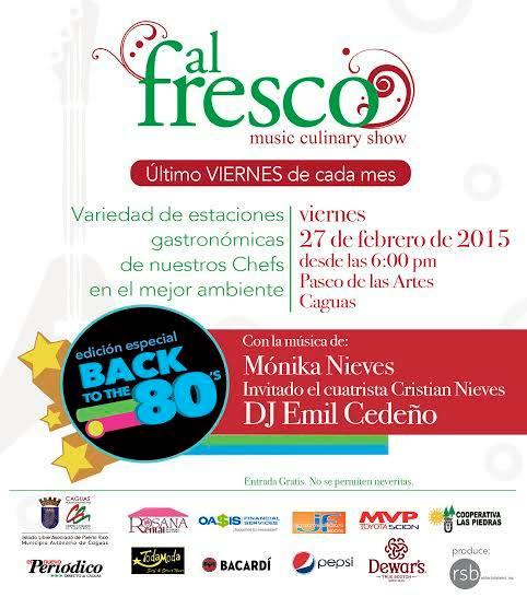 Al Fresco Música & Gastronomía- Febrero 2015