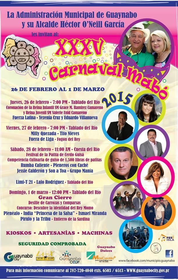 Carnaval Mabó 2015