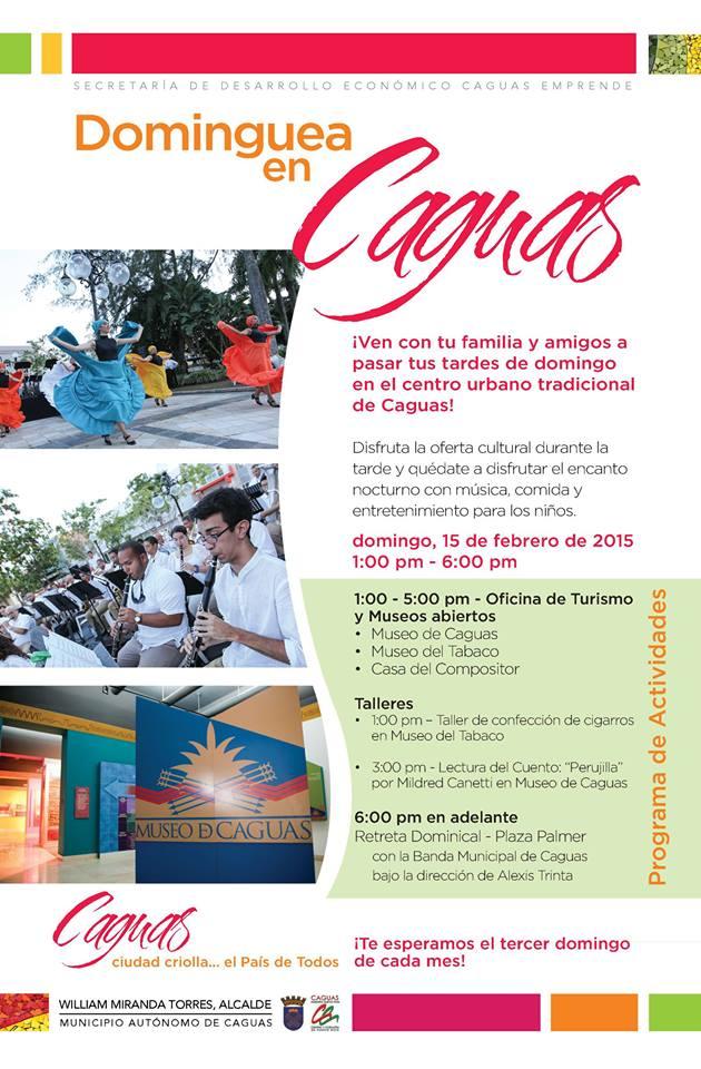 Dominguea en Caguas- Febrero 2015