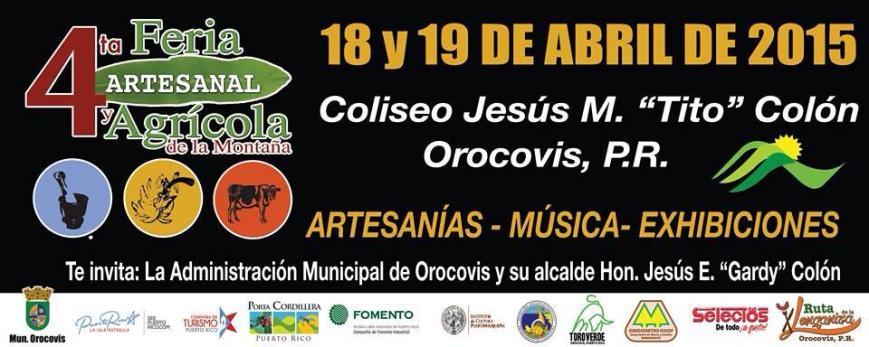 Feria Artesanal y Agrícola de la Montaña 2015