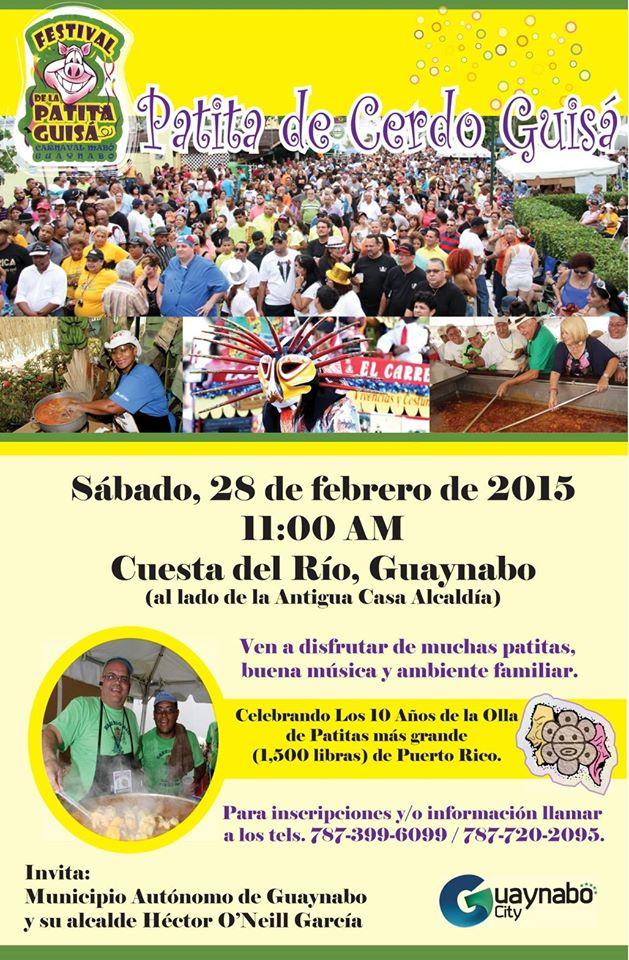 Festival de la Patita de Cerdo Guisá 2015