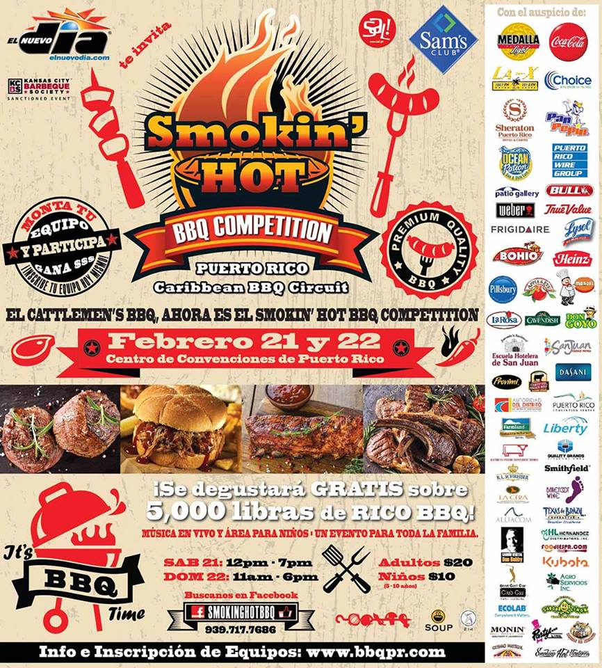 Smokin' Hot BBQ Competition 2015