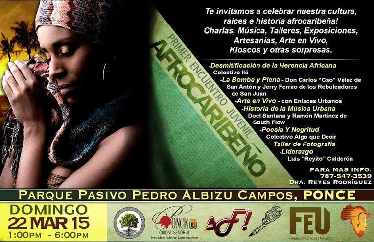 Encuentro Juvenil Afrocaribeño 2015