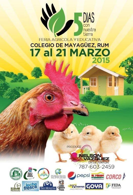 Feria Agrícola Educativa 5 Días con Nuestra Tierra 1