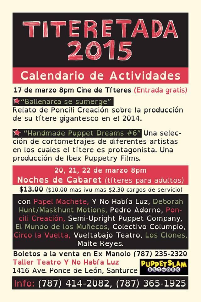 La Titeretada 2015