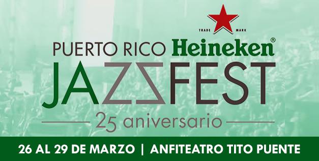 Puerto Rico Heineken Jazz Fest 2015