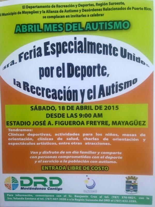 Feria Especialmente Unidos por el Deporte, Recreación y Turismo 2015