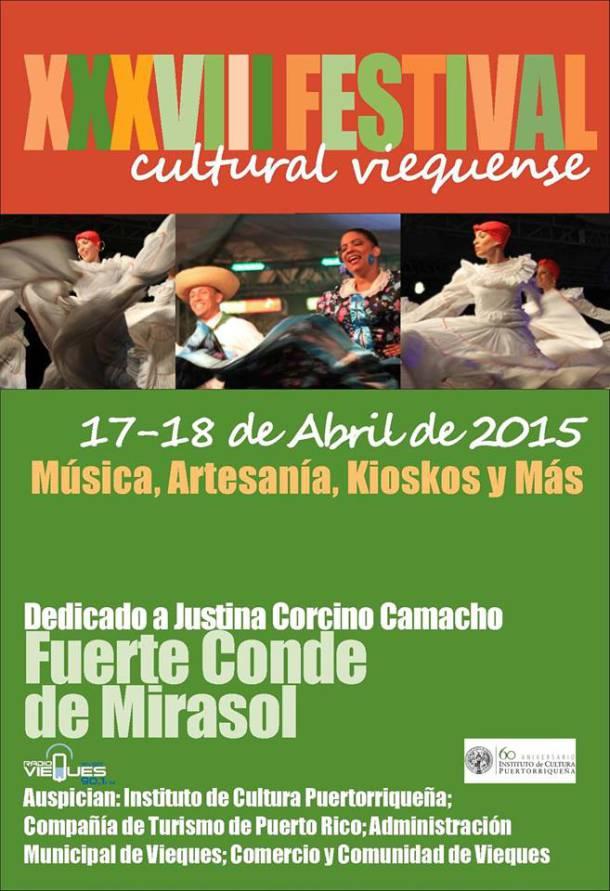 Festival Cultural Viequense 2015