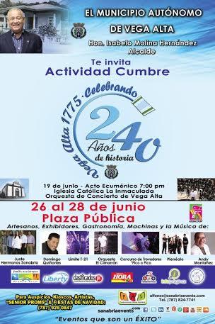 240 Aniversario de Vega Alta