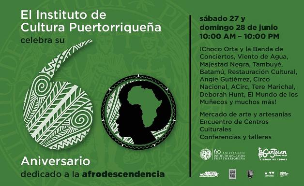 60 Aniversario Instituto de Cultura Puertorriqueña