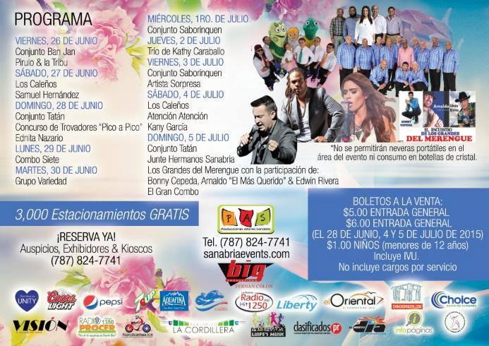 Festival de las Flores de Aibonito 2015 2